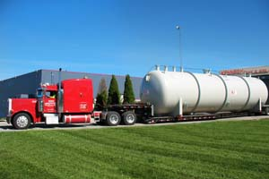 natural gas tanks