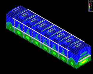 Rectangular Tank Structural FEA example