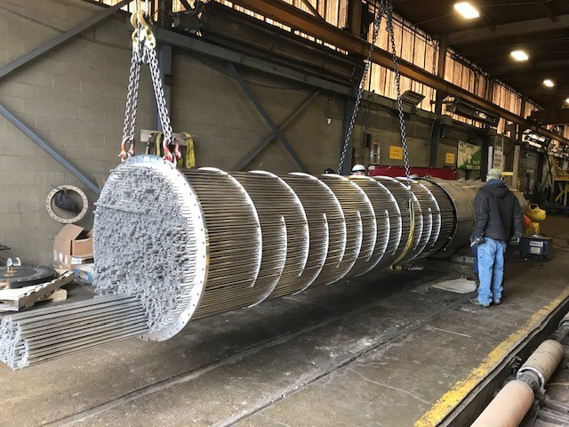 Shell and Tube Heat Exchangers Gallery | Kennedy Tank