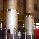 Stainless Pressure Vessels with Basket Inserts